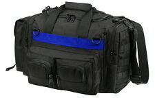 Thin Blue Line Concealed Pistol Handgun Carry Range Police Duty Duffle Gear Bag