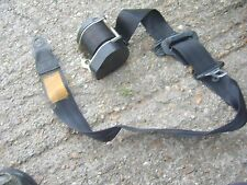 AUDI 100 C3 200 FRONT RIGHT SEATBELT IN BLACK 443857706A 443 857 706 A