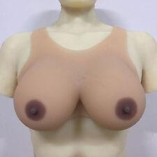 2400g Crossdress Silicone Breast Forms Transgender False Boobs Beige Skin