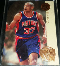 Grant Hill 1994-95 SP Championship FUTURE PLAYOFF HEROES DIE-CUT Rookie Card