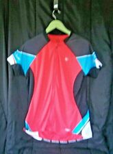 Pearl Izumi Women's SZ XXL cycle full zipper, short sleeve, 3 back pockets