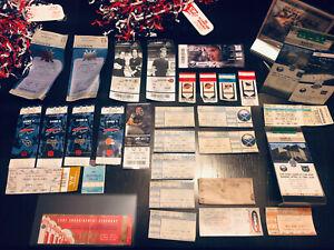 ticket stub lot 30 Stub Lot