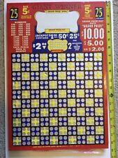 Giant Winner Punch Board