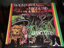 BLACKBOARD JUNGLE DUB LEE SCRATCH PERRY SIGNED UPSETTERS VINYL RECORD