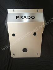 Toyota Prado 120 IFS front/sump bash plate - 3mm Stainless Steel