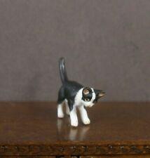 "HALF  SCALE ~ 1/2""  scale ~  CAT  STALKING  ~ Dollhouse Miniature ~ 1/24"