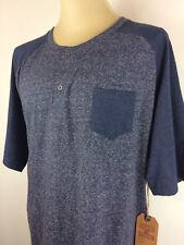 New Men's Hudson & Barrow NYC Button Front Casual Short Sleeve Shirt Size 3XL