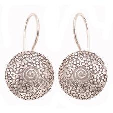 Karen hill tribe Earrings 98-99% silver
