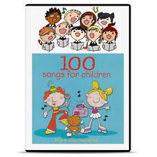 2 x CD 100 Children Kids Child Singalong NURSERY Songs Music