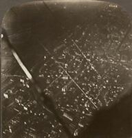 Eyes of the Army - German Town From a British Aeroplane. Underwood Stereoview #6