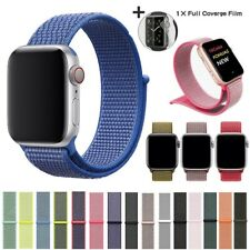 Nylon WOVEN Sport Loop Band for Apple Watch iWatch Series 5/4/3/2 38/42/40/44mm