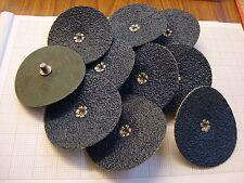 (Bag of 10) Scru Lok 75mm Quick-Change Fibre Sanding Discs  36 Grit