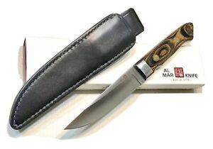 Vintage 1980' Al Mar 4003 Tanken APU Japan LE 038/200 Dagger Knife Sheath Mint