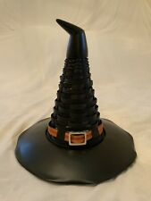 New ListingLongaberger Halloween Fall Witch's Hat Basket With Resin Base Approx 11�H X 11Rd