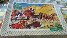 Vintage Victory Plywood Jigsaw Puzzle, The Ambush. 70 pieces Excellent condition