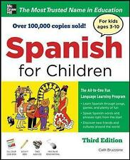 Spanish for Children with Three Audio CDs, Third Edition by Catherine Bruzzone (Book, 2010)