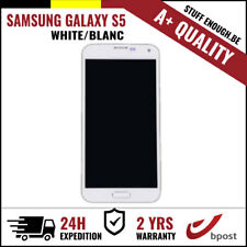 A+ LCD TOUCH SCREEN DISPLAY/SCHERM/ÉCRAN WHITE FOR SAMSUNG GALAXY S5 I9600