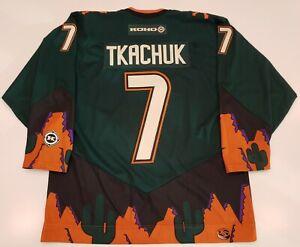 Keith Tkachuk CCM Vintage Phoenix Coyotes Jersey Peyote