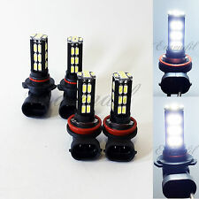 Combo 9005 H11 White Samsung Chip LED 30 SMD Headlight #cr1 Bulb High/Low Beam