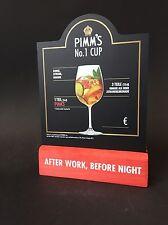 Pimm's Menü Halter Tisch Kreide Tafel NEU OVP Longdrink Cocktail Pimms