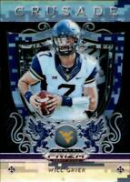 2019 Panini Prizm Draft Picks Crusade Prizm Camo #4 Will Grier RC Rookie 5/25