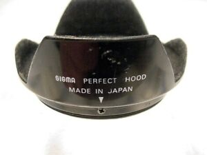 Sigma Perfect Lens Hood   52MM Snap-on   Used   Tested   $2.35  