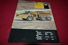 Caterpillar 735 Articulated Dump Truck Dealer's Brochure DCPA8