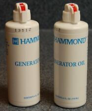 Generator Oil - lubricate and protect mechanical generator 8 oz by Hammond