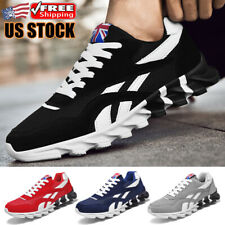 New listing Running Men's Gym Breathable Non-slip Sneakers Comfortable Walking Tennis Shoes