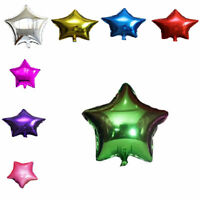 "10pcs 18"" Big Star Foil Balloon Birthday Wedding Baby Shower Party Decoration"