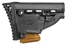 GL-MAG SRP FAB Defense Black Butt Stock w/ 5.56/223 Magazine Carrier IDF