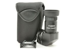 """""""Near MINT"""" Canon Right Angle View finder C w/ Case for Film Camera From JAPAN 2"""