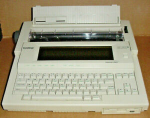 BROTHER WORD PROCESSOR WP-1400D Electric Typewriter, LCD Screen, Grammar Check