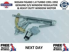 FITS  NISSAN FIGARO O/S WINDOW MOTOR AND REGULATOR NEXT DAY DELIVERY
