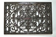 Large cast iron antique style air brick grill cover insert inset grill AG2