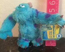 "NWT Disney Pixar Monster Inc University SULLEY 2001 Plush Toy 6"""