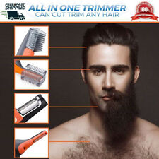 2 in 1 Hair, Nose, Ears, Eyebrows, Neck, Beard Trimmer for Adults & Kids