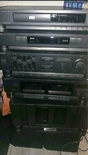 Sharp System 8000 Stereoanlage mit B&W Lautsprecher (li,re,cntr)