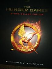 Hunger Games Rare 3 Disc DELUXE EDITION Blu-ray w/ Slipcover.