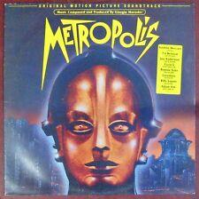 Metropolis 33 Tours Giorgio Moroder 1984