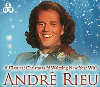 A CLASSICAL CHRISTMAS & WALTZING NEW YEAR WITH ANDRE RIEU - 3 CD BOX SET