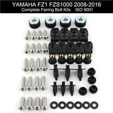 silver for YAMAHA FZ1 FZS1000 2008 2009 2010 2011 2012 2013 2014 2015 2016 Xitomer Full Sets Fairing Bolts Kits Mounting Kits Washers//Nuts//Fastenings//Clips//Grommets