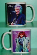 JON BON JOVI - with 2 Photos - Designer Collectible GIFT Mug 03