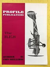 no.85 - AIRCRAFT Profile Publications - The r.e.8 - VG CONDIZIONE