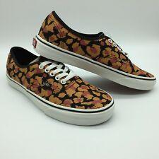 Para Hombre/Mujer Vans zapatos auténticos (Leopardo) Negro/Dorado Inca. por favor leer tabla de tamaño.