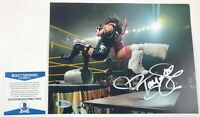 TNA Impact Wrestling Taya Valkrie Autographed 8x10  Photo Signed WWE NXT Beckett