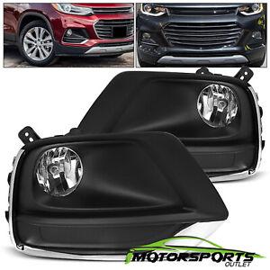 2017 2018 2019 Chevrolet Trax Fog Lights Driving Lamps w/Harness+Bulbs