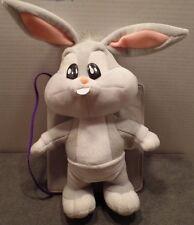 1999 WB Looney Tunes Lovable Hug Me Baby Bugs Favorite Things Bunny Plush/ Book