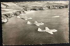 1960 The Hague Netherlands RPPC Real Picture postcard Cover Hawker Sea Hawk