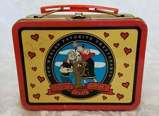 Olive Oil Popeye Lunchbox 2000 King Features Syndicate Gently Used See Pics